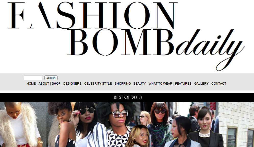 Fashion Bomb Daily: And the Winners Are…Best of 2013!