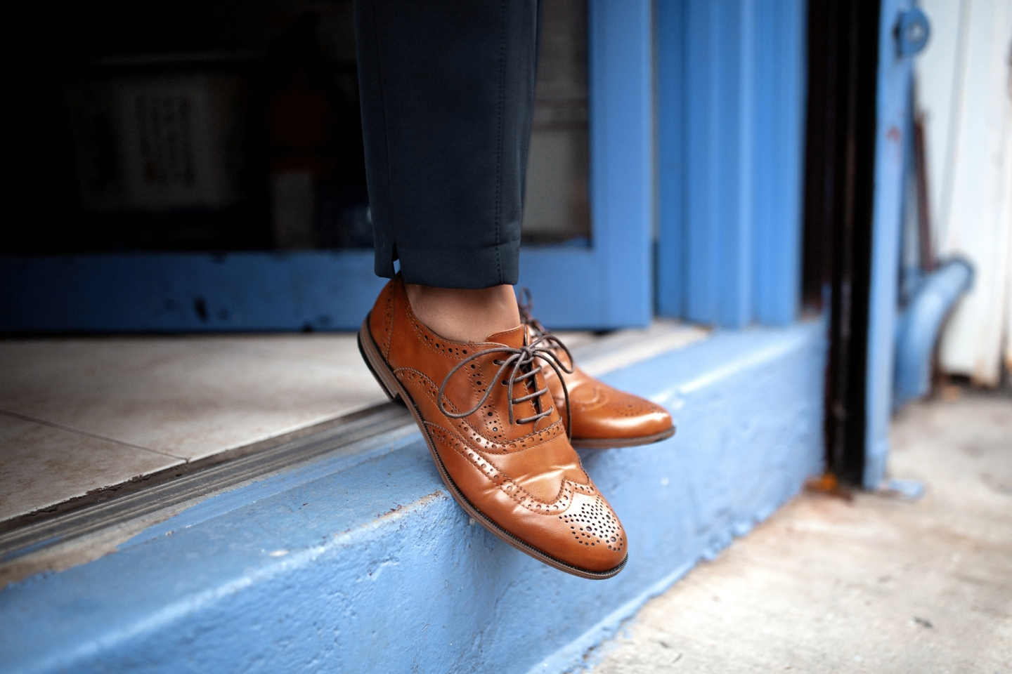 Primark Brown Oxfords