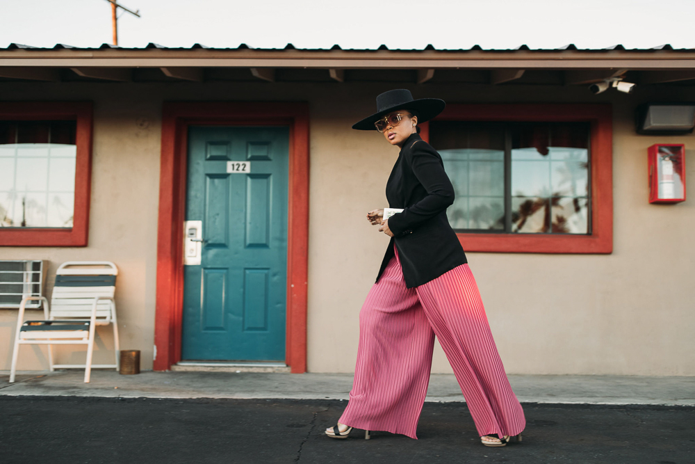 Lack Of Color Wide Brin Hat Sonjia Williams Pleated Pants